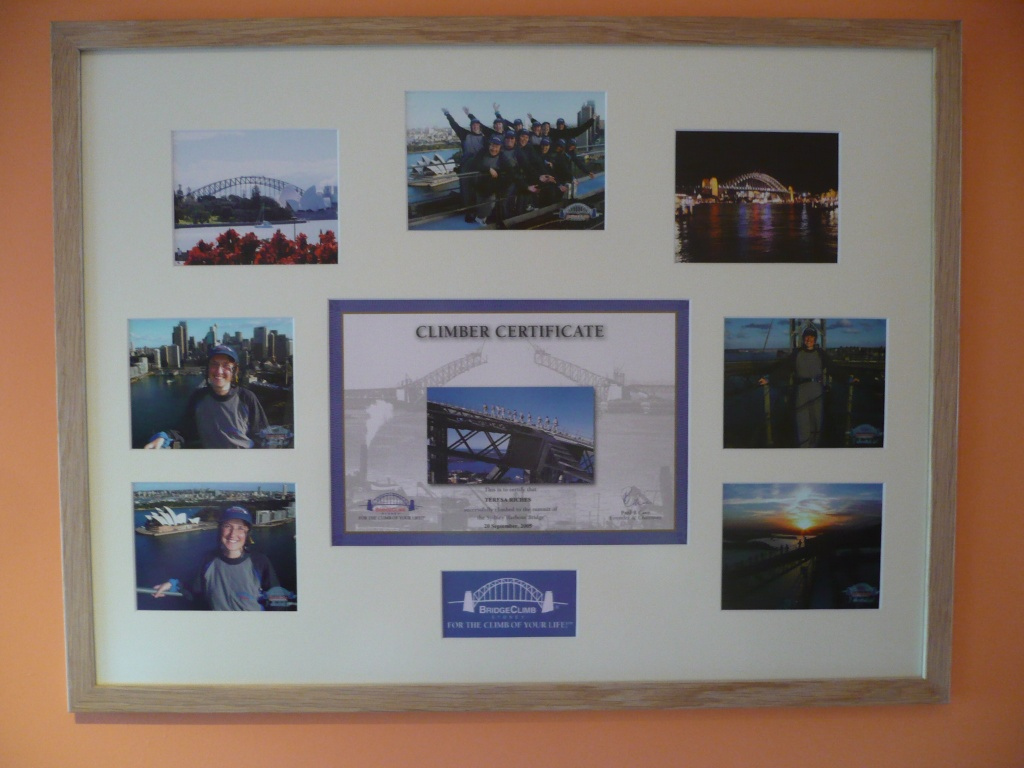 framing gallery photographs